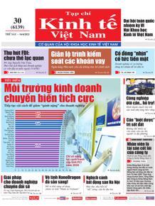 Tạp chí Kinh tế Việt Nam số 30