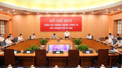Chủ tịch Hà Nội: Áp dụng biện pháp mạnh hơn đối với địa bàn có nguy cơ cao