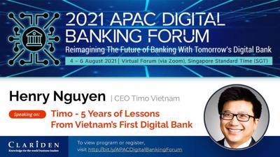 Hành trình 5 năm phát triển của ngân hàng số Timo tại Việt Nam