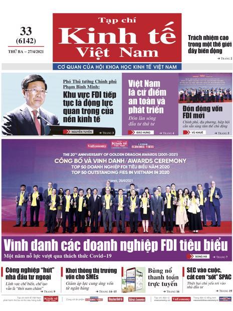Tạp chí Kinh tế Việt Nam số 33