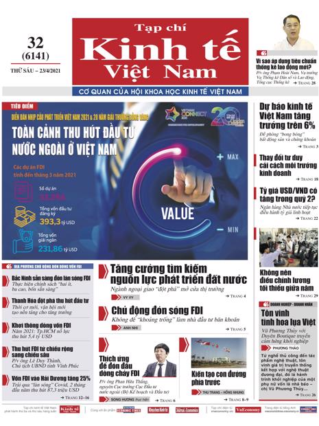 Tạp chí Kinh tế Việt Nam số 32