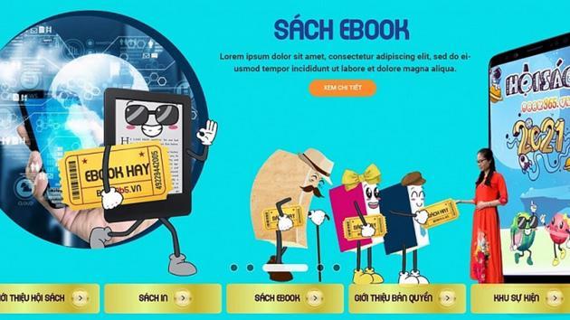 Nhiều sách giảm giá tới 80% tại Hội sách trực tuyến quốc gia 2021