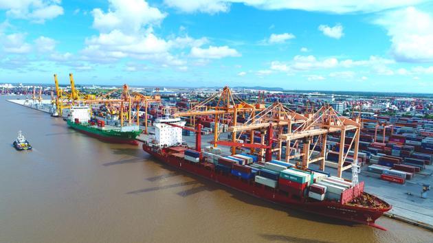 Cảng Hải Phòng: tăng trưởng vượt bậc trong quý 1/2021
