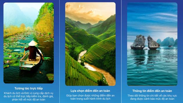 """Tiếp nhận phản ánh về dịch vụ du lịch qua ứng dụng """"Du lịch Việt Nam an toàn"""""""