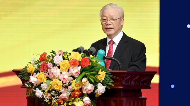 Tổng bí thư Nguyễn Phú Trọng: Ngành ngân hàng cần đẩy mạnh triển khai Đề án tái cấu trúc gắn với xử lý nợ xấu