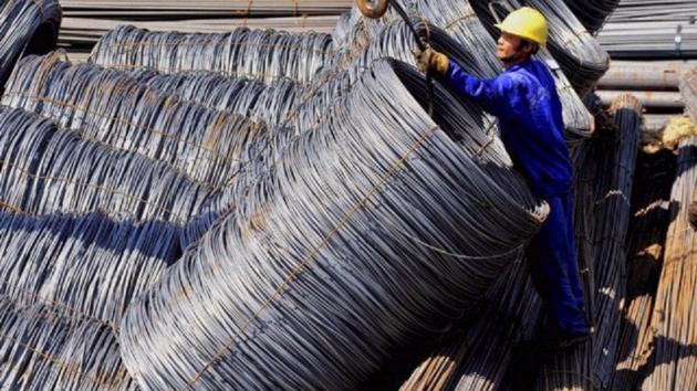 Thép xây dựng đồng loạt tăng giá từ 300 – trên 500 đồng/kg