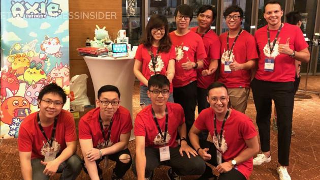 Một start-up game blockchain Việt được rót 7,5 triệu USD