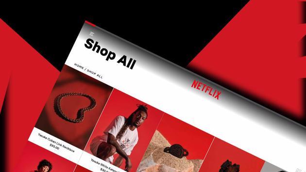 Netflix lấn sân thương mại điện tử, mở cửa hàng trực tuyến