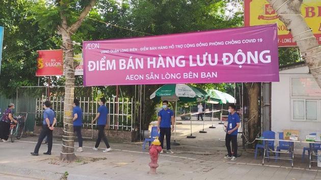 AEON Vietnam conducting mobile sales in Hanoi