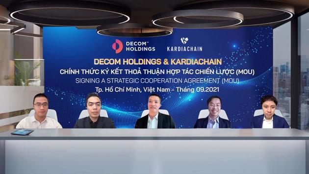 Decom Holdings & KardiaChain team up in Blockchain
