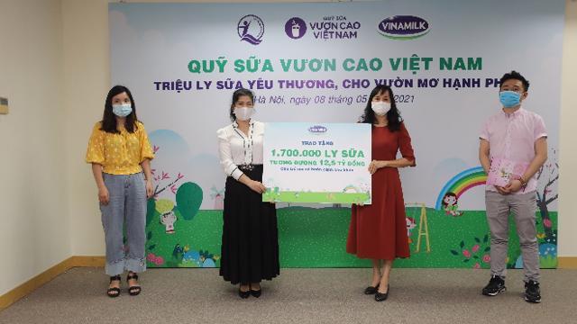Khởi động hành trình của Quỹ sữa Vươn cao Việt Nam năm 2021