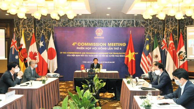Phiên họp Hội đồng Hiệp định CPTPP lần thứ 4 chính thức diễn ra