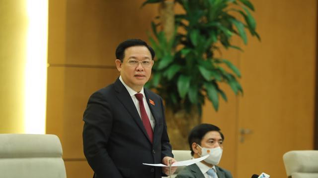 """Chủ tịch Quốc hội: """"Trong cái khó sẽ ló cái khôn"""", doanh nghiệp Việt Nam sẽ tận dụng được cơ hội từ khó khăn"""