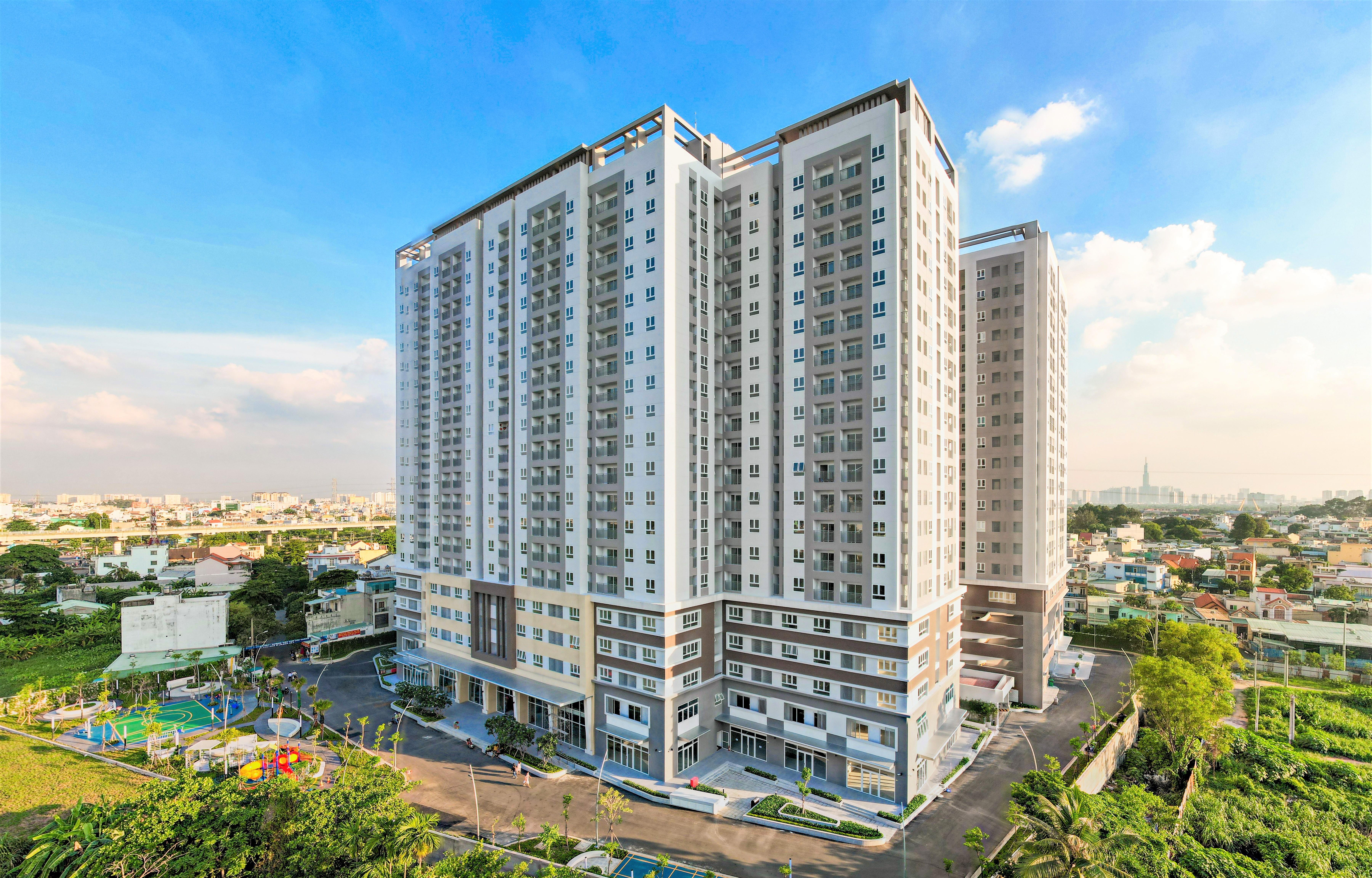 Dự án Lavita Charm do Hưng Thịnh Incons làm tổng thầu xây dựng vừa được bàn giao cho khách hàng từ giữa tháng 4/2021.