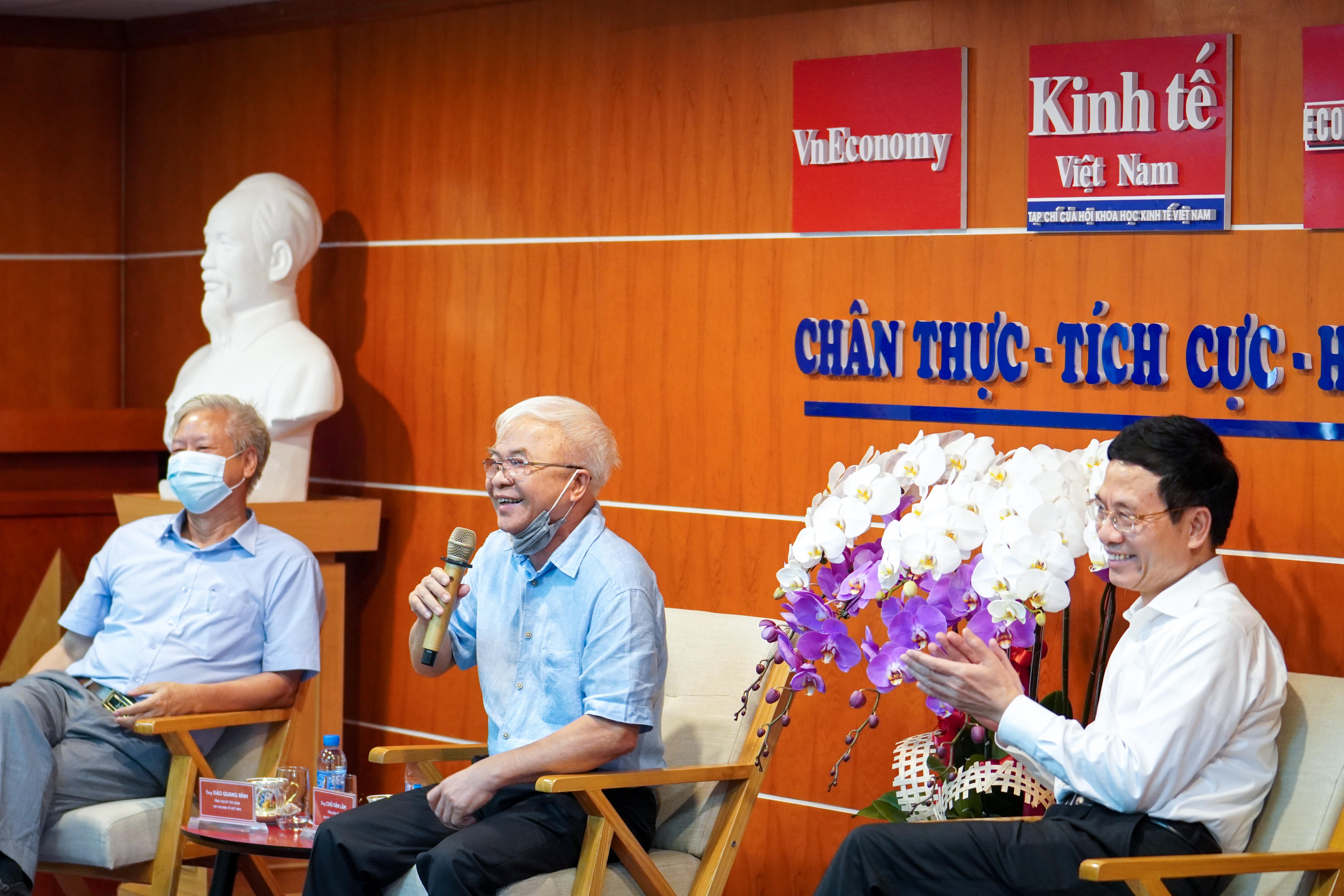 Tổng biên tập Chử Văn Lâm cho biết: Tạp chí Kinh tế Việt Nam đang tập trung mọi nguồn lực hướng vào nền kinh tế số.
