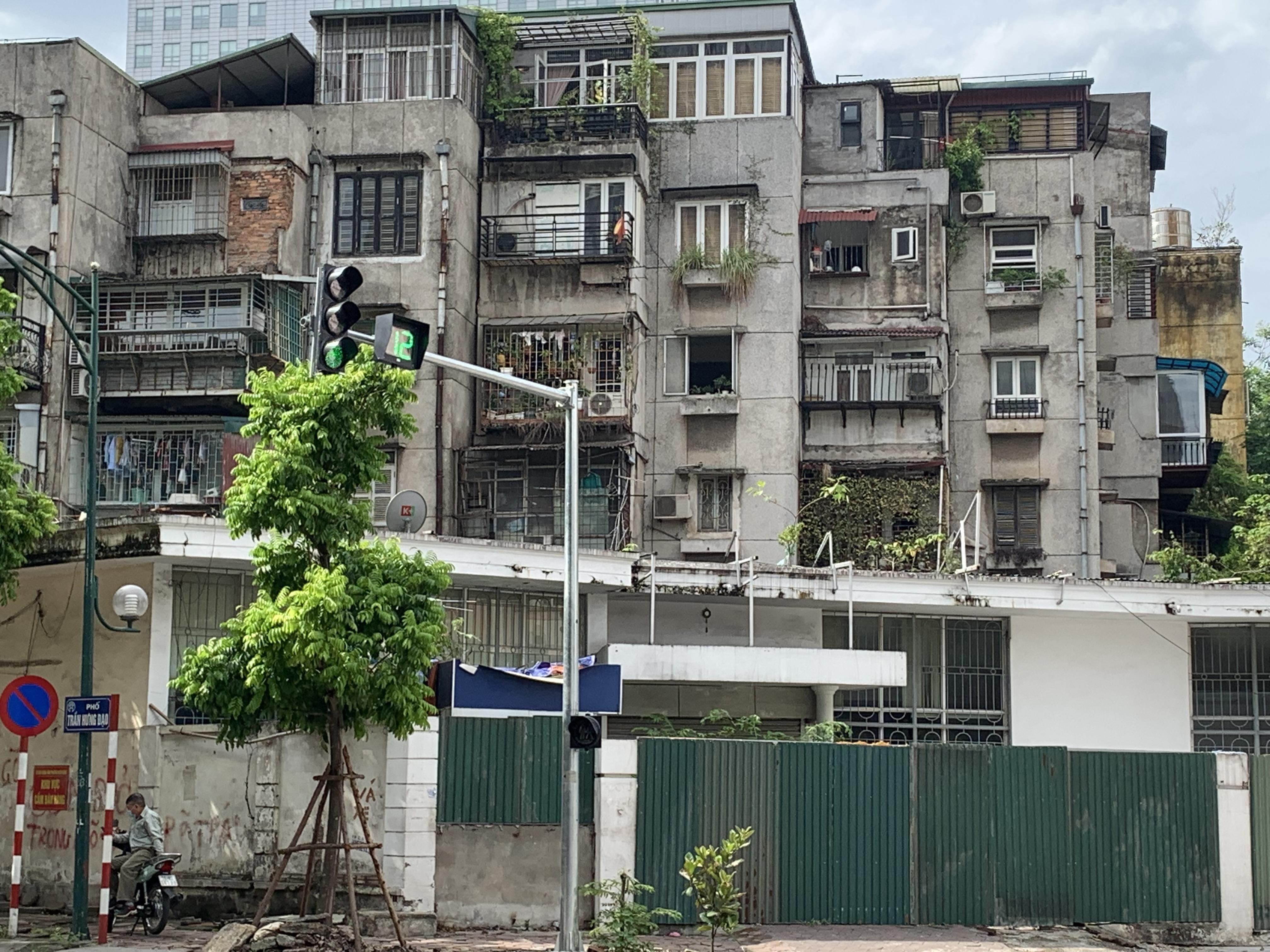 Hà Nội: Dành 500 tỷ đồng cho cải tạo chung cư cũ - Ảnh 1