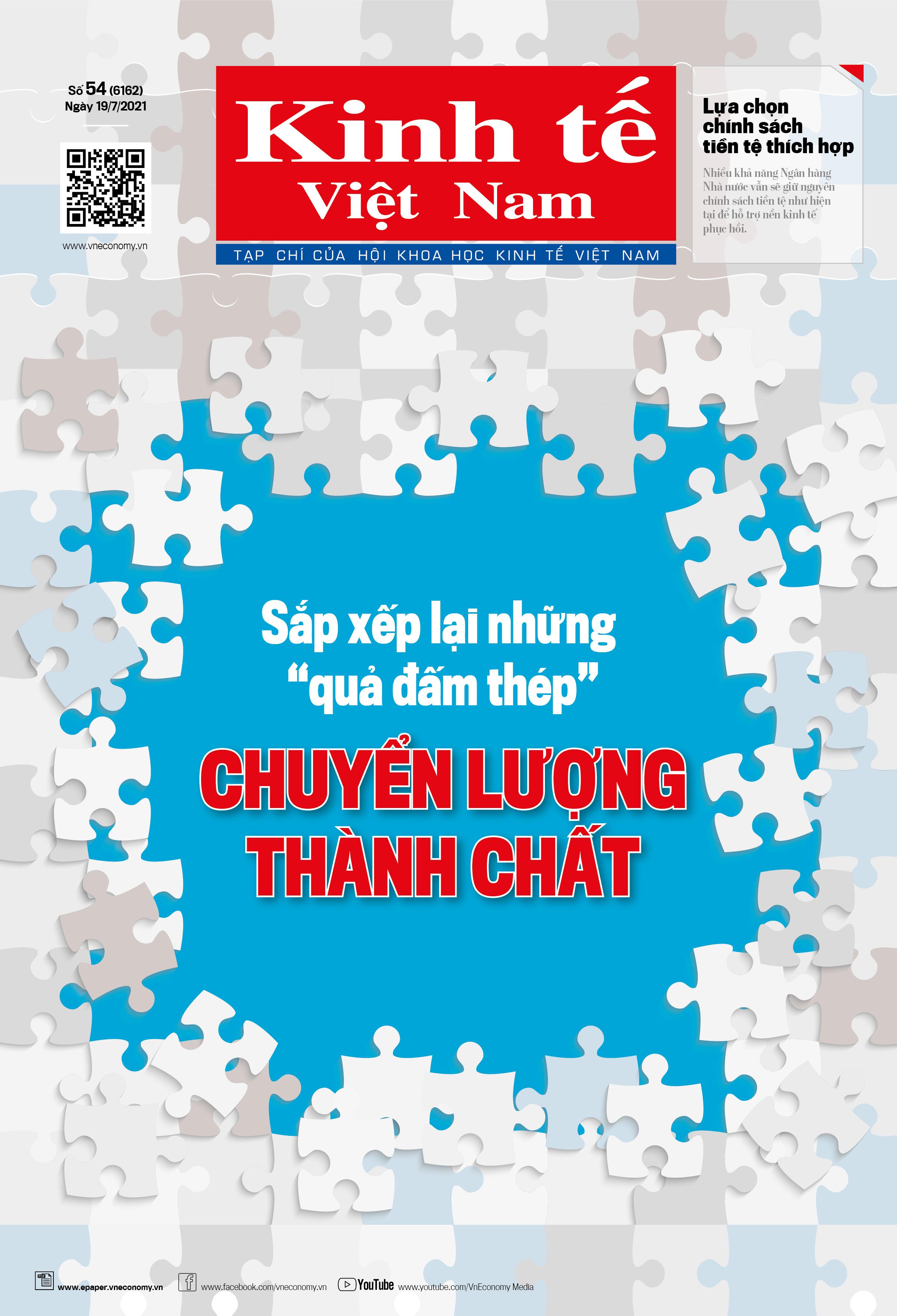 Kinh tế Việt Nam bộ mới số 54-2021.