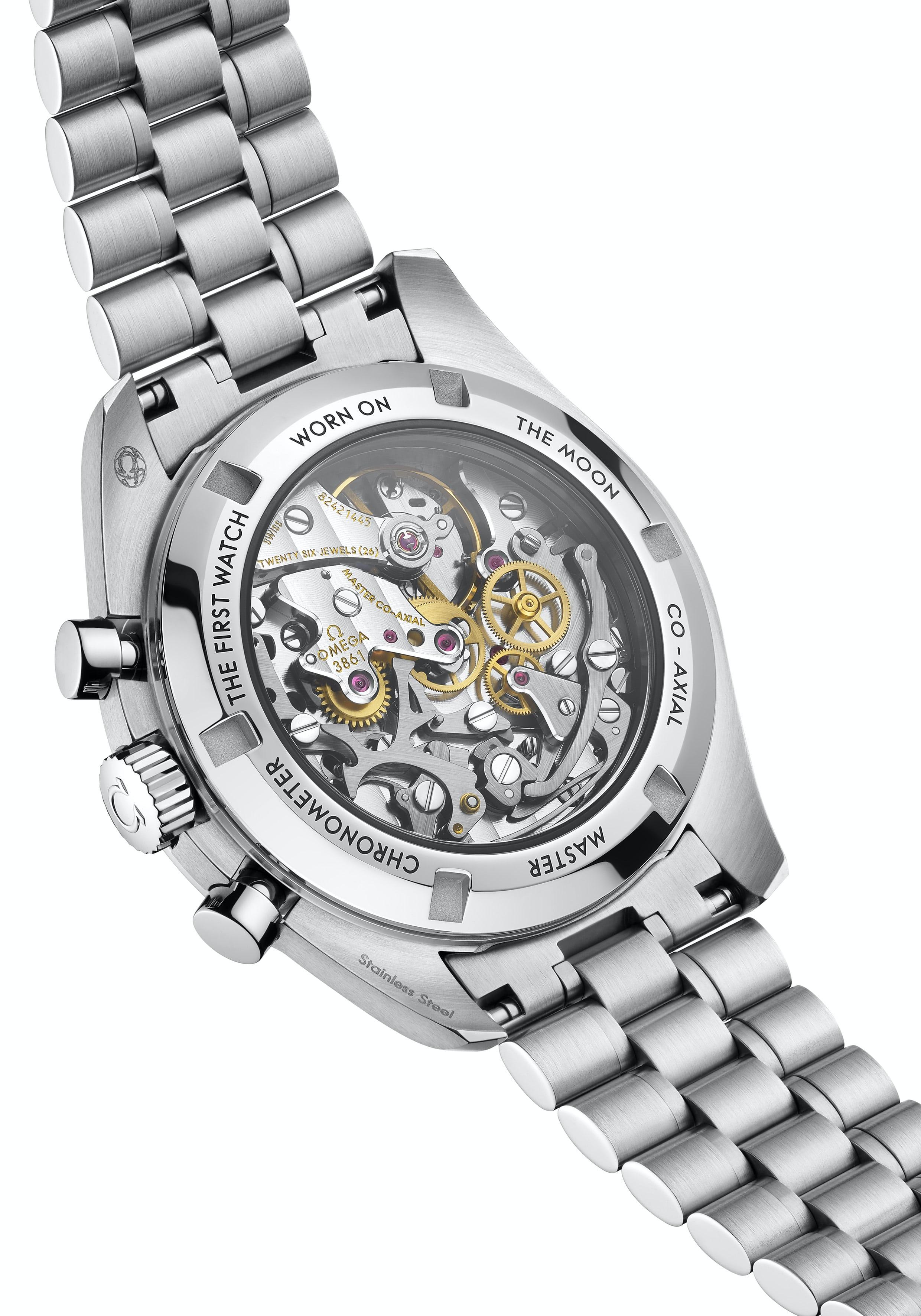 Cận cảnh chiếc đồng hồ theo tỷ phú Jeff Bezos bay lên rìa vũ trụ - Ảnh 12