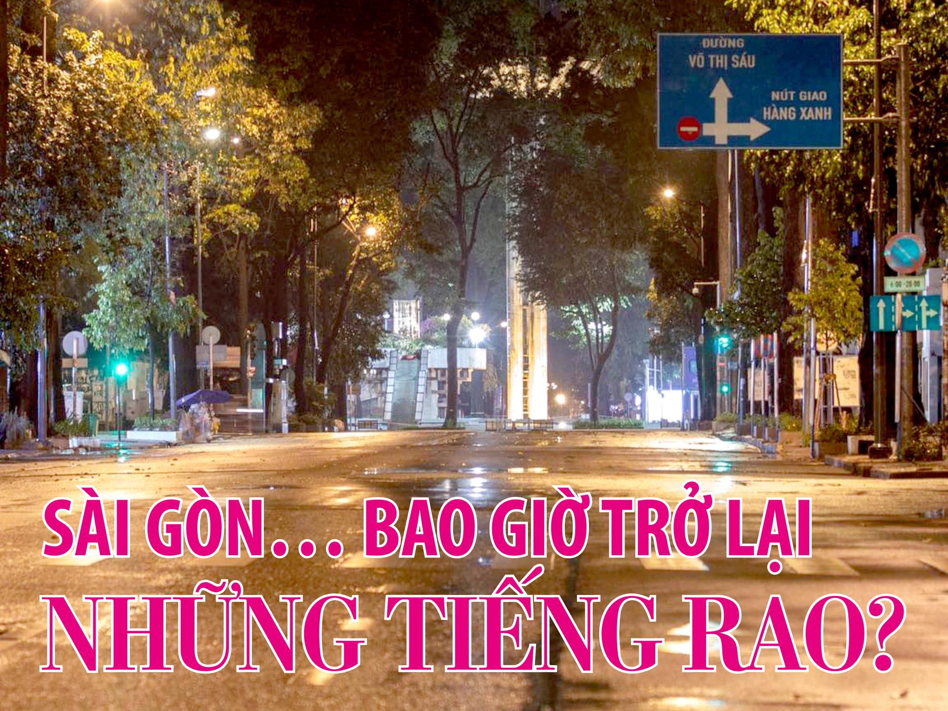 Sài Gòn… bao giờ trở lại những tiếng rao? - Ảnh 1