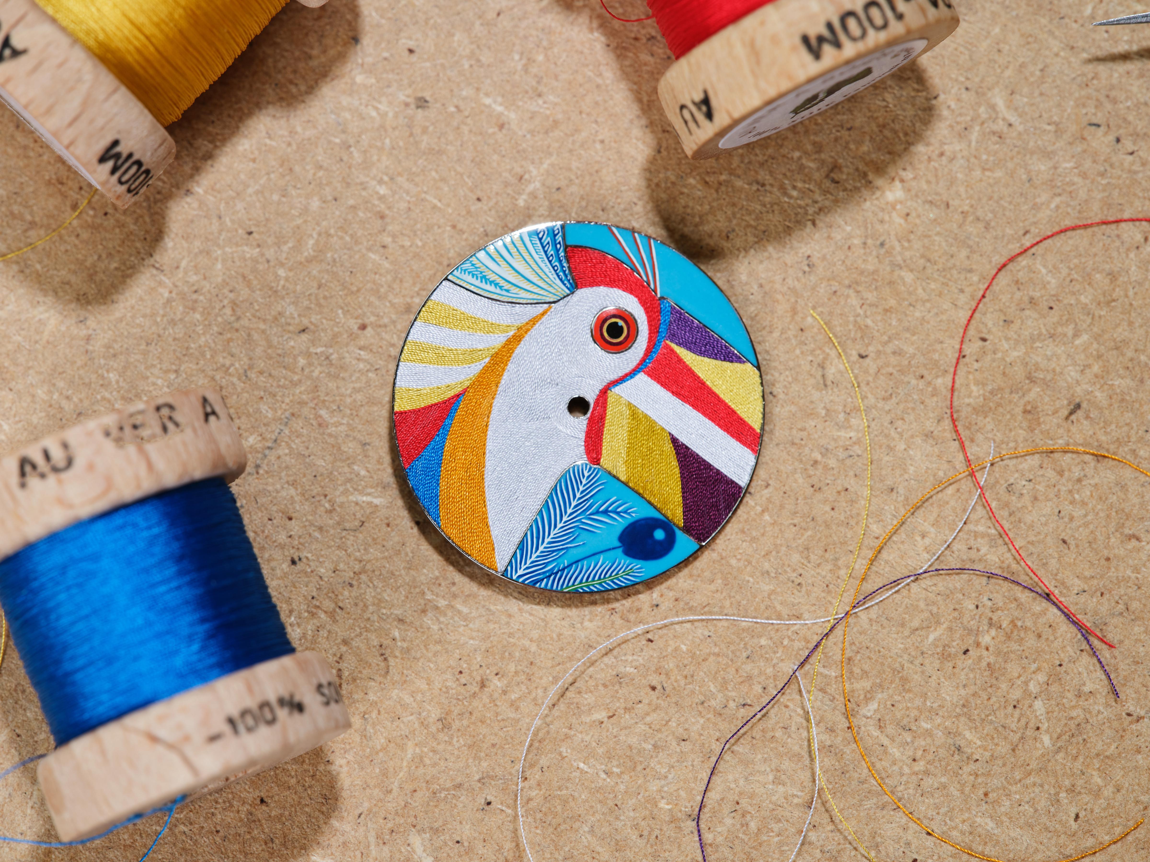 """Hermès ra mắt đồng hồ phiên bản giới hạn với mặt số """"thêu"""" sợi tơ tằm - Ảnh 5"""