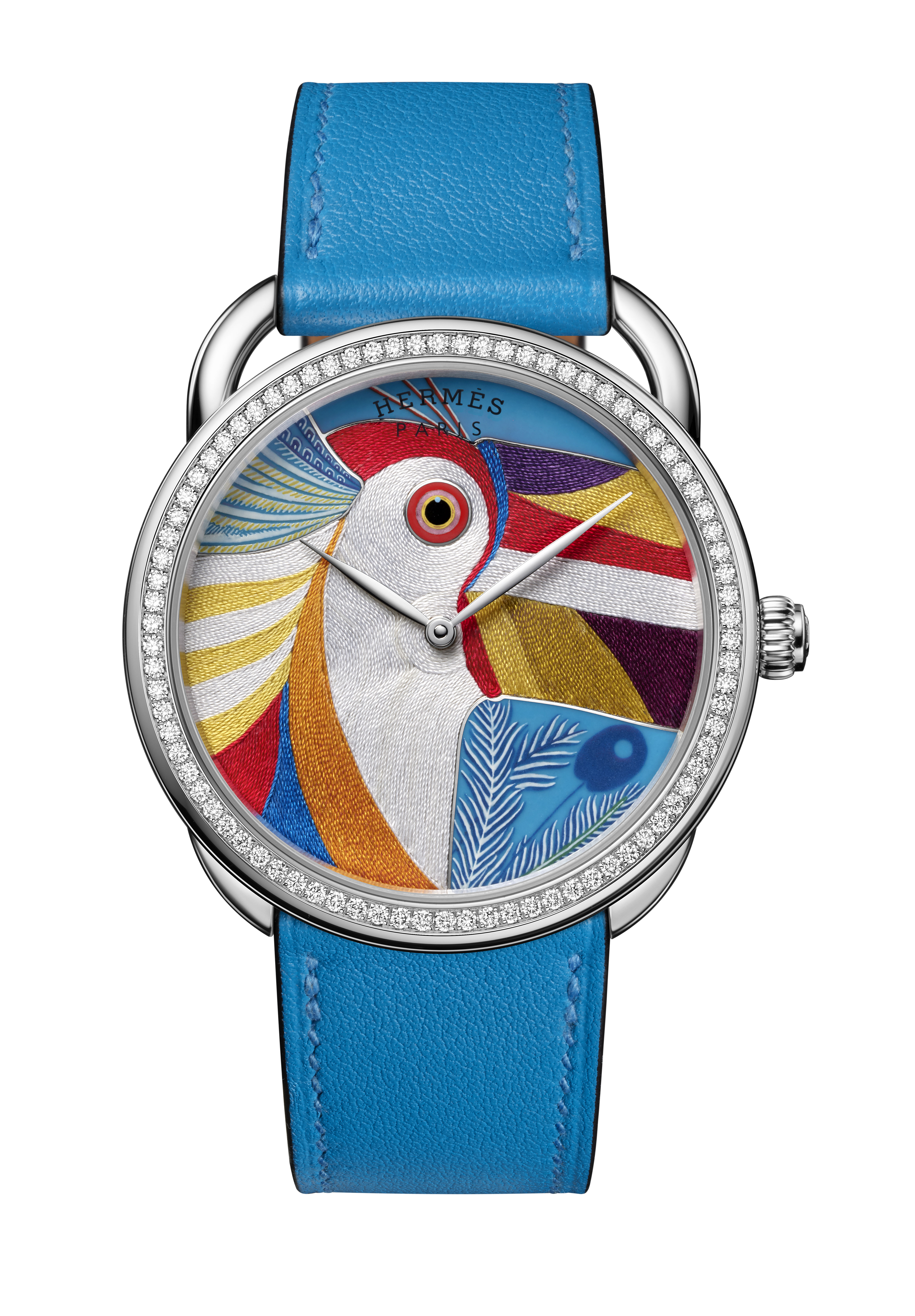 """Hermès ra mắt đồng hồ phiên bản giới hạn với mặt số """"thêu"""" sợi tơ tằm - Ảnh 1"""