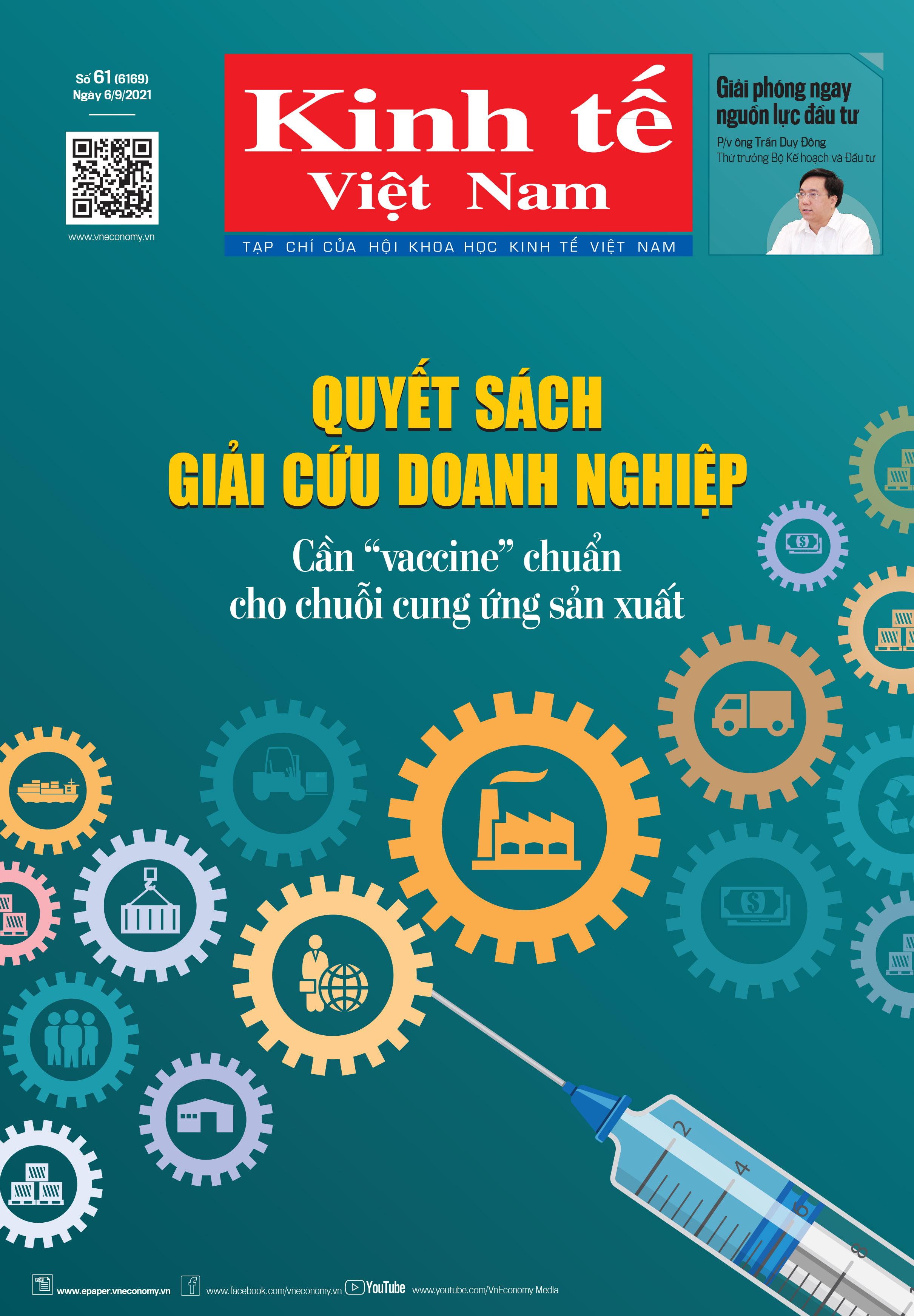 Kinh tế Việt Nam bộ mới số 61-2021.