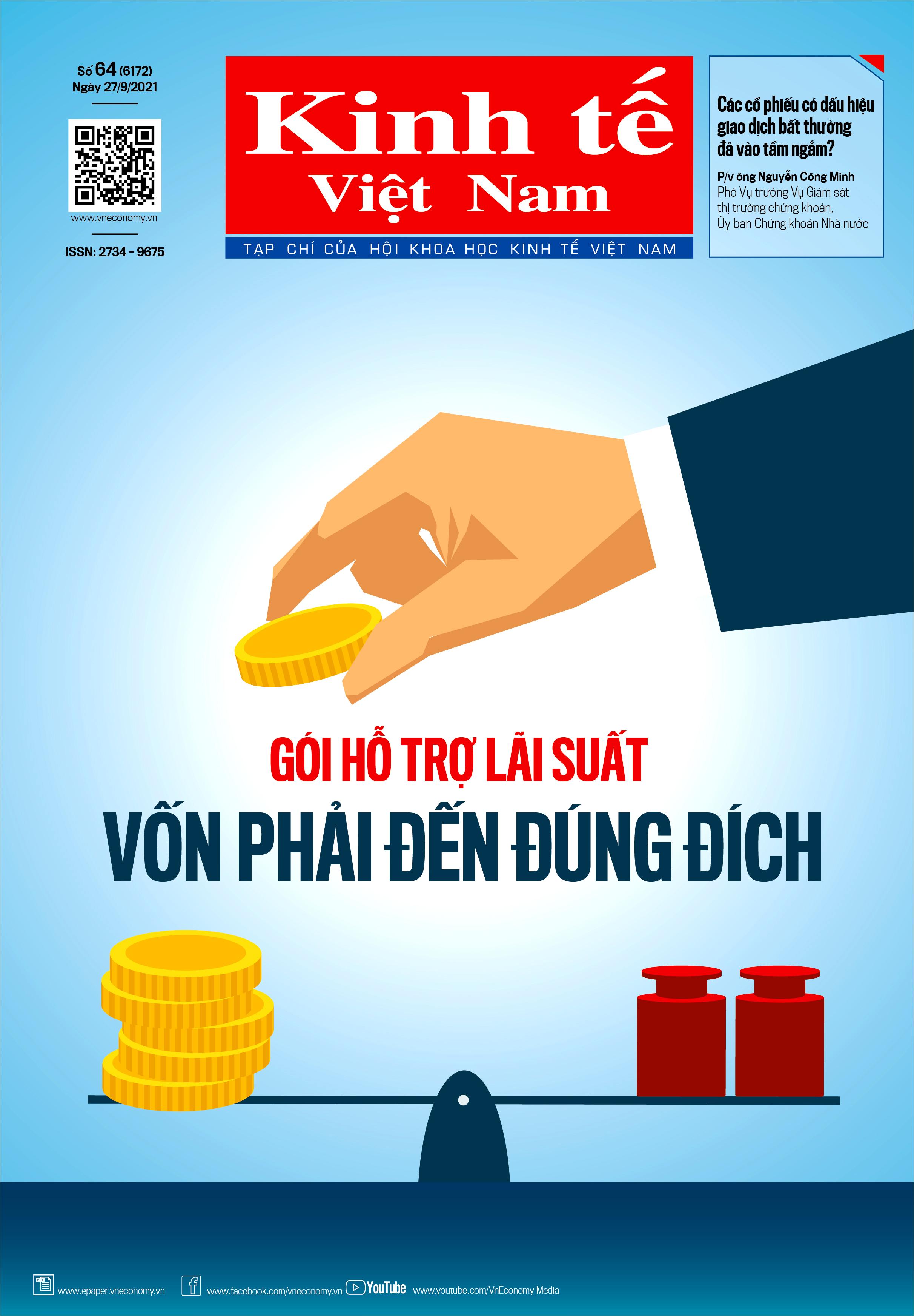 Tạp chí Kinh tế Việt Nam số 64-2021