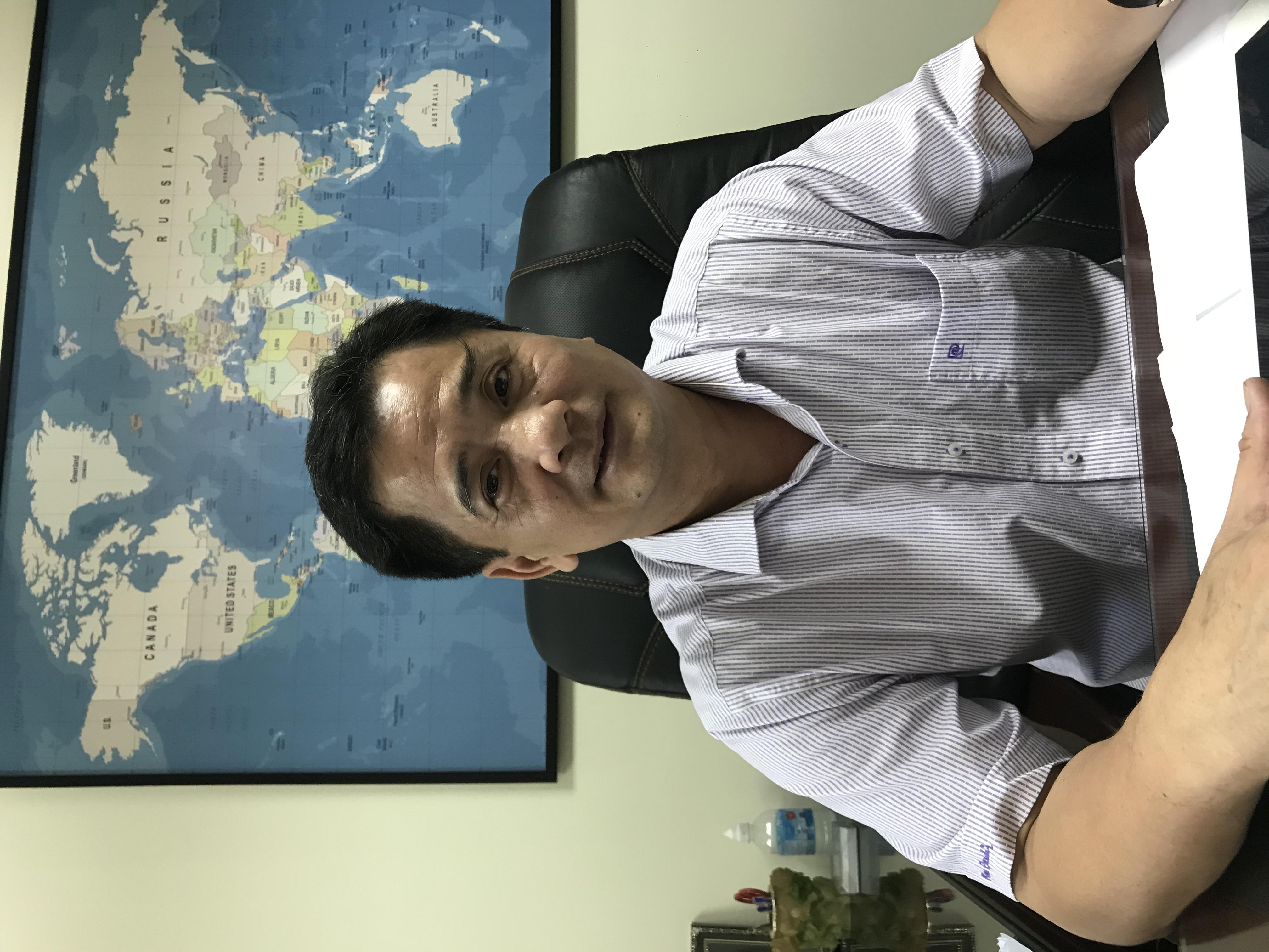 Ông Nguyễn Văn Đính, Tổng Thư ký Hội Môi giới bất động sản Việt Nam