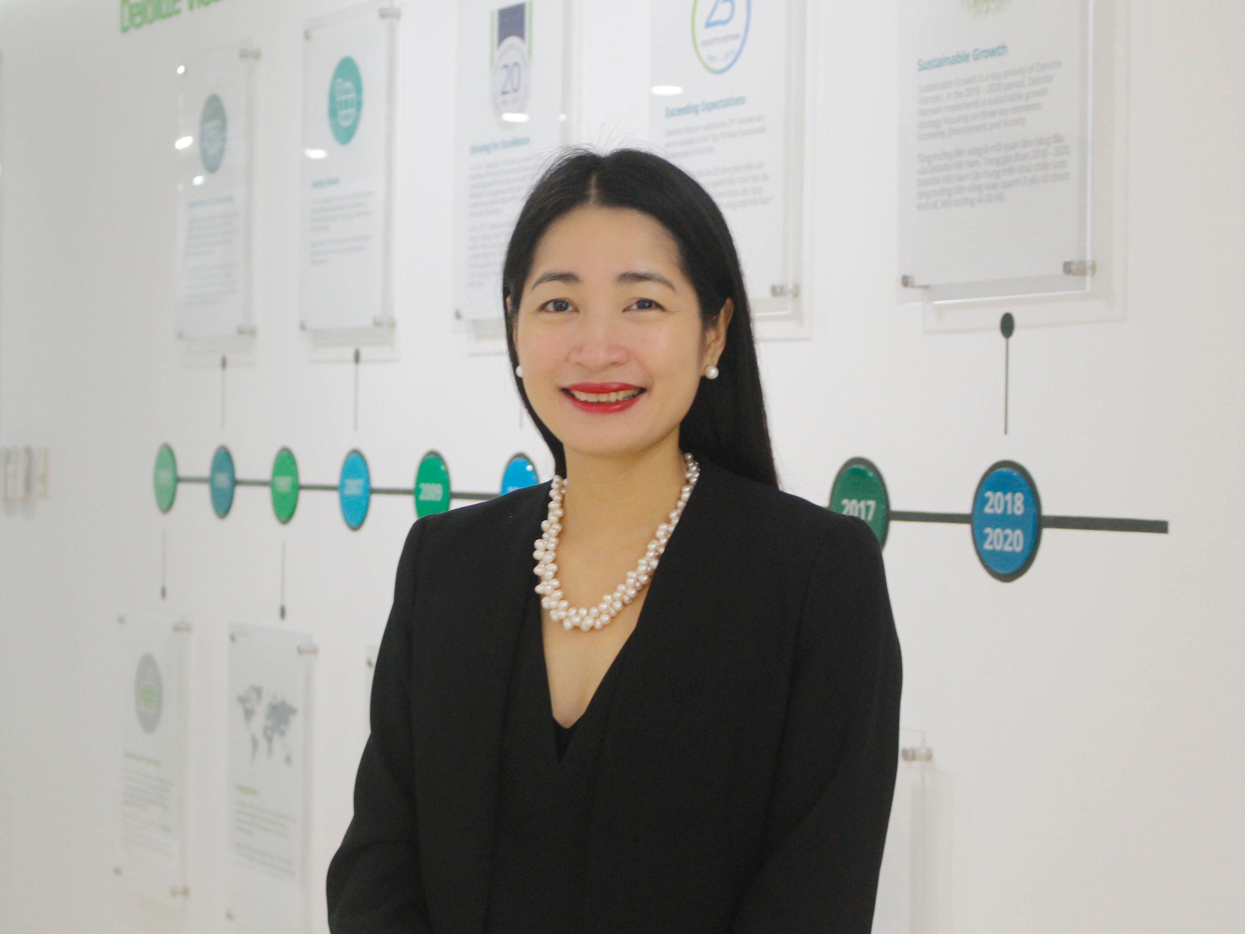 BàVũ Thu Ngà, Phó Tổng Giám đốc Deloitte Việt Nam.