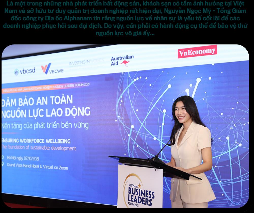 CEO Công ty Địa ốc Alphanam Nguyễn Ngọc Mỹ:Chỉ có sự đồng lòng mới tạo ra đột phá… - Ảnh 2