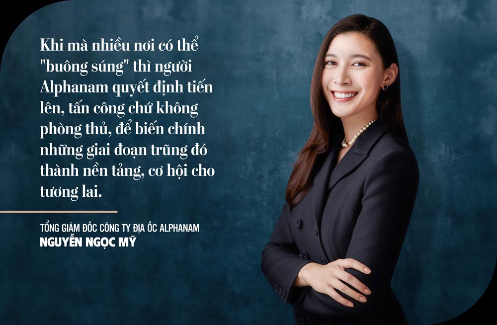 CEO Công ty Địa ốc Alphanam Nguyễn Ngọc Mỹ:Chỉ có sự đồng lòng mới tạo ra đột phá… - Ảnh 4