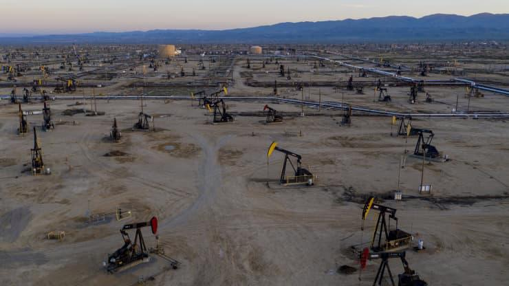 Mỏ dầu South Belridge ở bang California, Mỹ - Ảnh: Getty/CNBC.