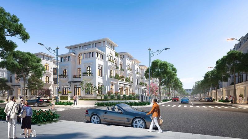 Biệt thự song lập Louis City Hoàng Mai giai đoạn 2 được chào bán với mức giá từ 99 triệu đồng/m2.
