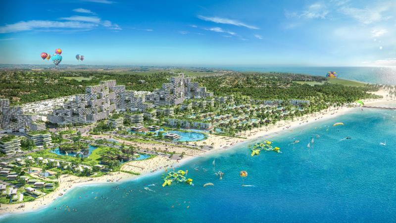 Thanh Long Bay hứa hẹn sẽ trở thành địa điểm hàng đầu của khách hàng đầu tư và nghỉ dưỡng.