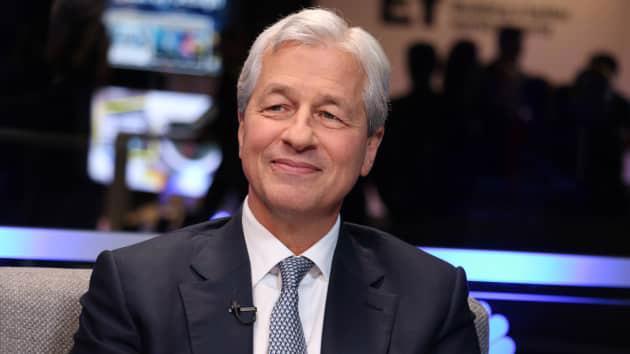 Ông Jamie Dimon, CEO kiêm Chủ tịch JPMorgan Chase - Ảnh: CNBC.