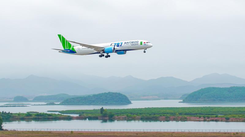 Boeing 787 - 9 Dreamliner.