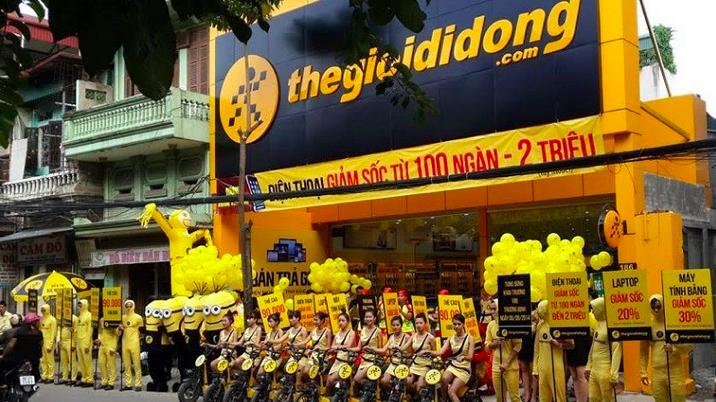 Tính đến cuối tháng 2/2021, MWG có 908 cửa hàng Thegioididong.com, giữ nguyên so với thời điểm cuối tháng 1/2021.