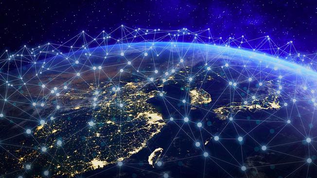 Tham vọng của Starlink là sử dụng 12.000 vệ tinh quỹ đạo thấp để phủ sóng Internet đến mọi ngóc ngách của quả địa cầu - ảnh minh họa.