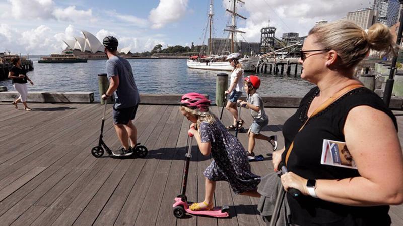 Trước đại dịch, mỗi năm có khoảng 1,5 triệu người Australia đến New Zealand, chiếm gần 40% tổng lượng khách quốc tế tới nước này - Ảnh: Getty Images