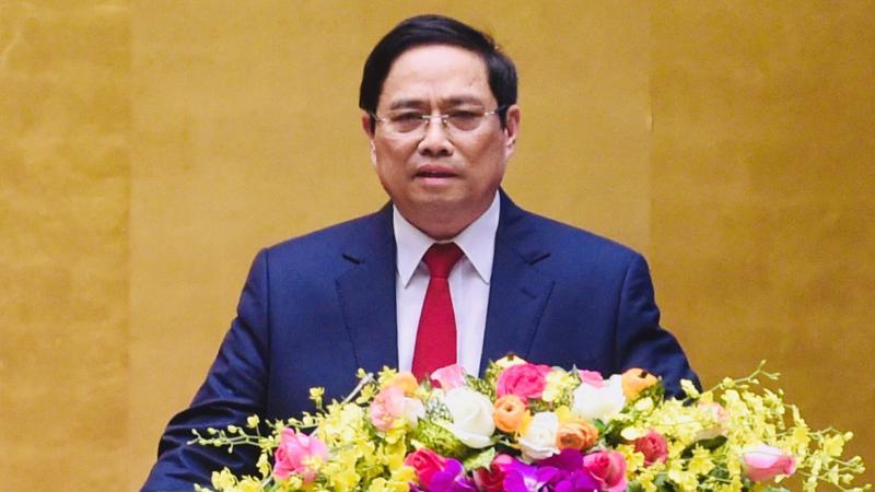 Tân Thủ tướng Chính phủ Phạm Minh Chính - Ảnh: VGP