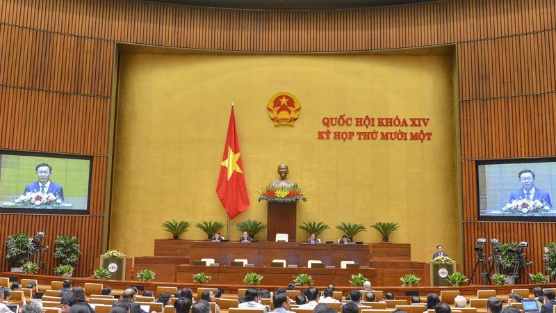 Quốc hội sẽ bầu Chủ tịch nước và Thủ tướng Chính phủ trong ngày hôm nay (5/4) - Ảnh: Quochoi.vn