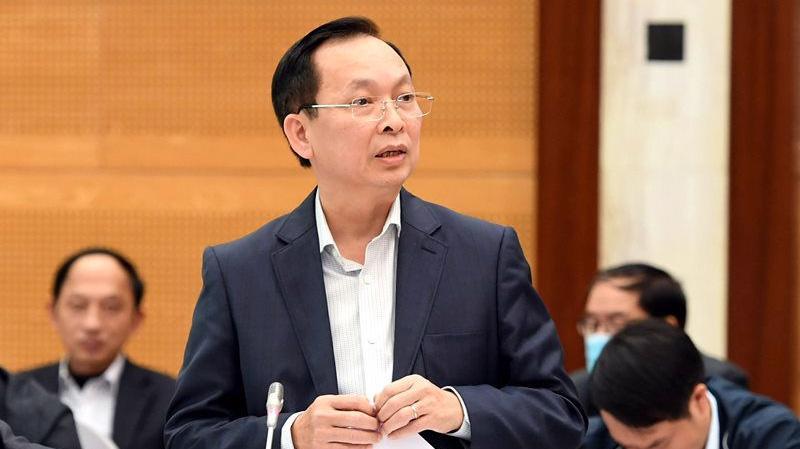 Phó Thống đốc Ngân hàng Nhà nước Đào Minh Tú - Ảnh: VGP