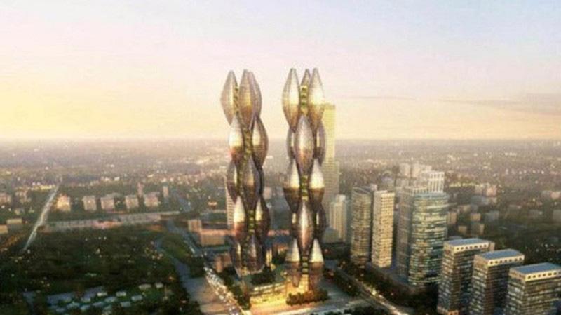 Phối cảnh dự án Khách sạn Hoa Sen.