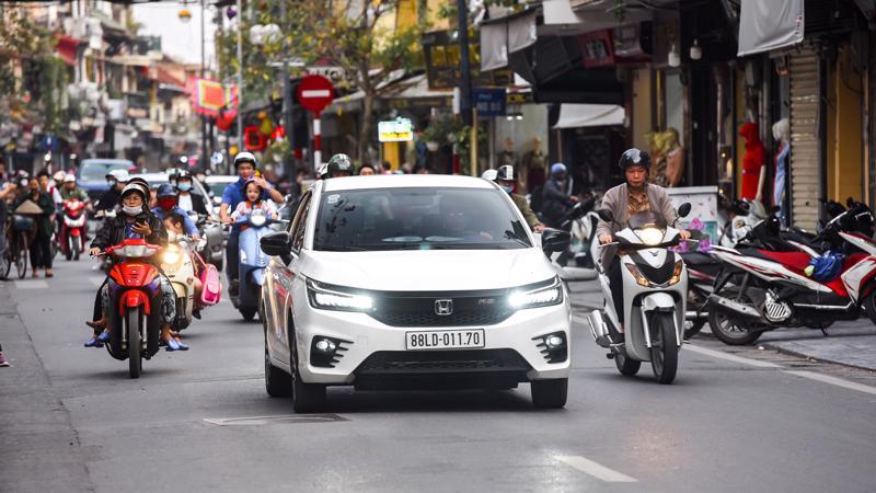 Honda City 2021 – Xe hay cho gia đình trẻ