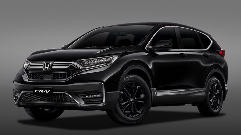 Điểm nhấn ở phiên bản đặc biệt Honda CR-V LSE là màu ngoại thất cùng các chi tiết thiết kế có tông màu đen.