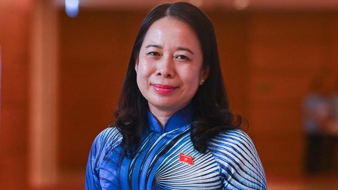 Bà Võ Thị Ánh Xuân - Ủy viên Trung ương, Bí thư Tỉnh ủy An Giang - Ảnh: VNE