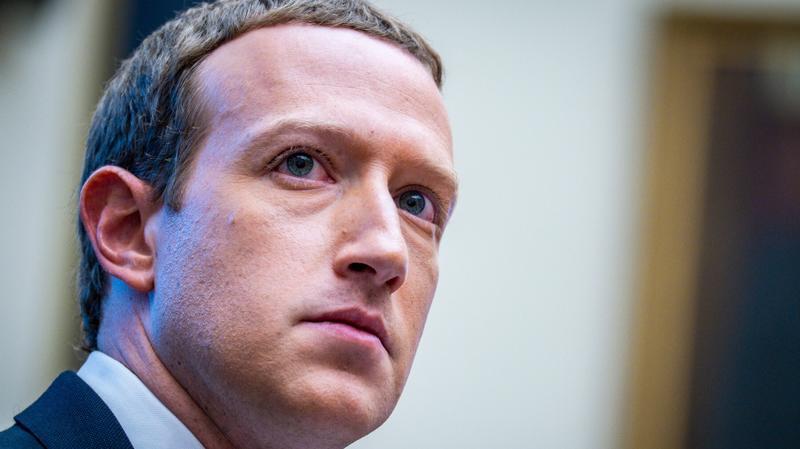 Mark Zuckerberg, CEO của Facebook - Ảnh: Getty Images