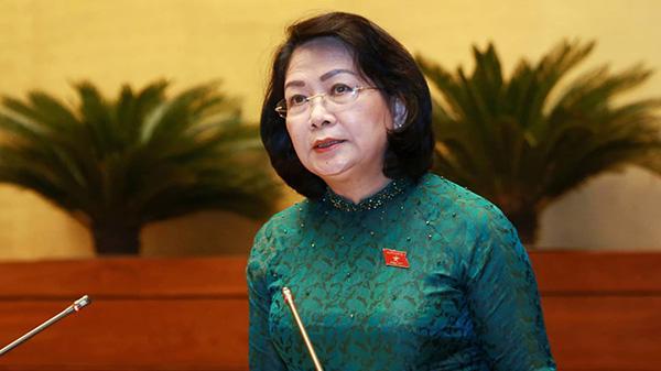 Phó chủ tịch nước Đặng Thị Ngọc Thịnh - Ảnh: VNN