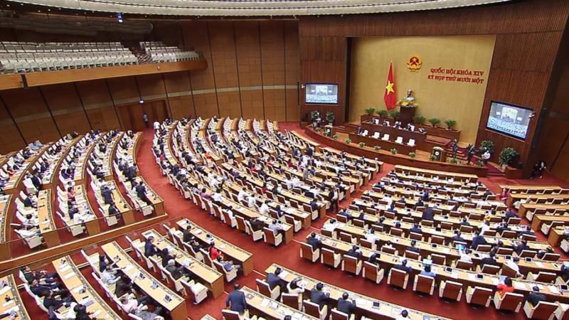 Quốc hội khóa 14 kết thúc kỳ họp cuối cùng vào ngày 8/4 - Ảnh: VGP