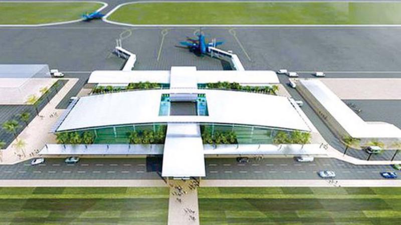 Phối cảnh cảng hàng không Quảng Trị - Ảnh: Cục Hàng không Việt Nam